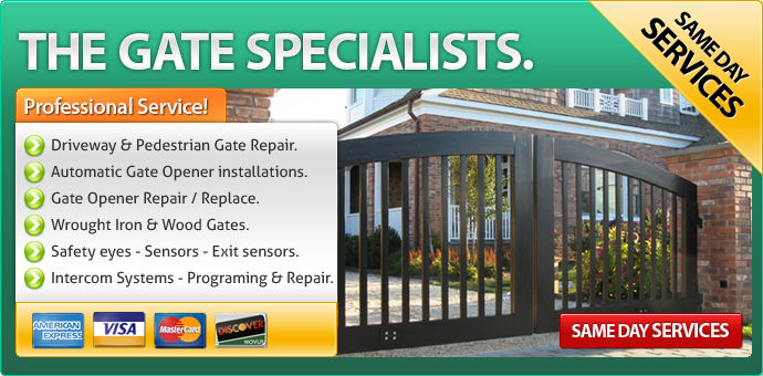 Gate repair Doylestown PA